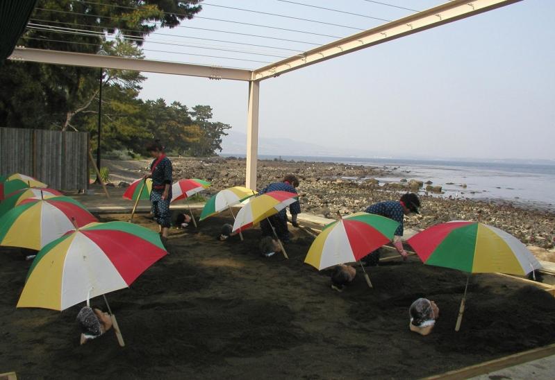 벳푸해변 오래찜질
